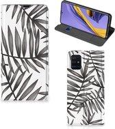 GSM Hoesje Samsung Galaxy A51 Leaves Grey