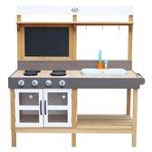 AXI Rosa Zand & Water Speelkeuken Groot - Incl. 17-delige accessoire set - Modder Keuken