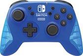 Hori Draadloze Pro Controller - Officieel Gelicenseerd - Nintendo Switch + Lite - Blauw