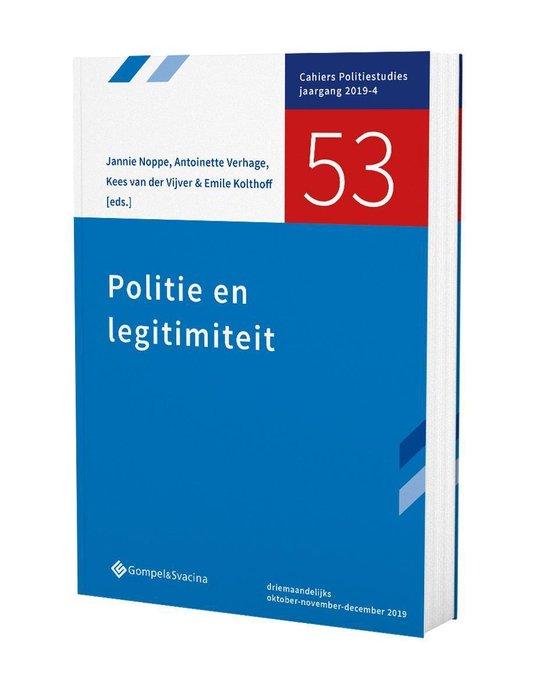 53-politie en legitimiteit - Emile Kolthoff Verhage |