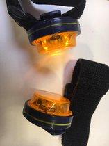 LED richtingaanwijzer voor fietsers (2 stuks in verpakking)