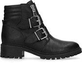 Sacha - Dames - Zwarte biker boots - Maat 40