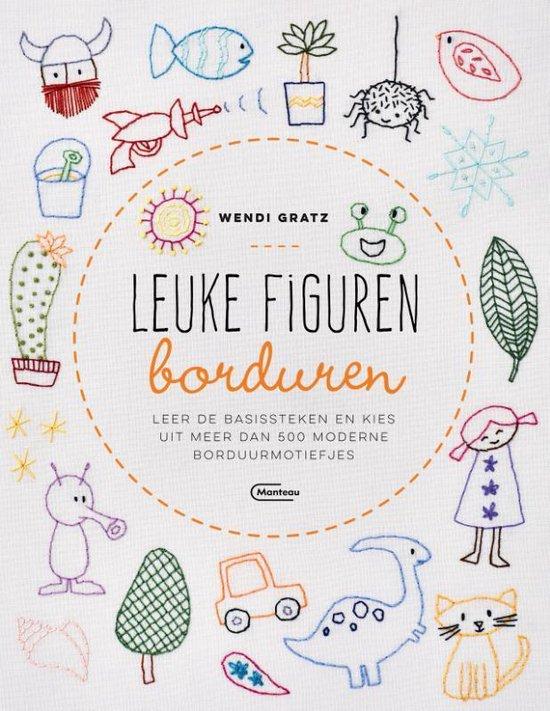 Leuke figuren borduren