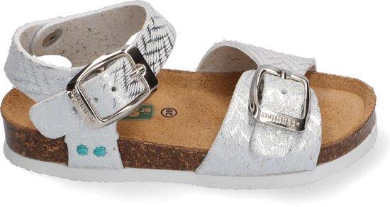 BunniesJr Babette Beach Meisjes sandalen - Zilver - Maat 22