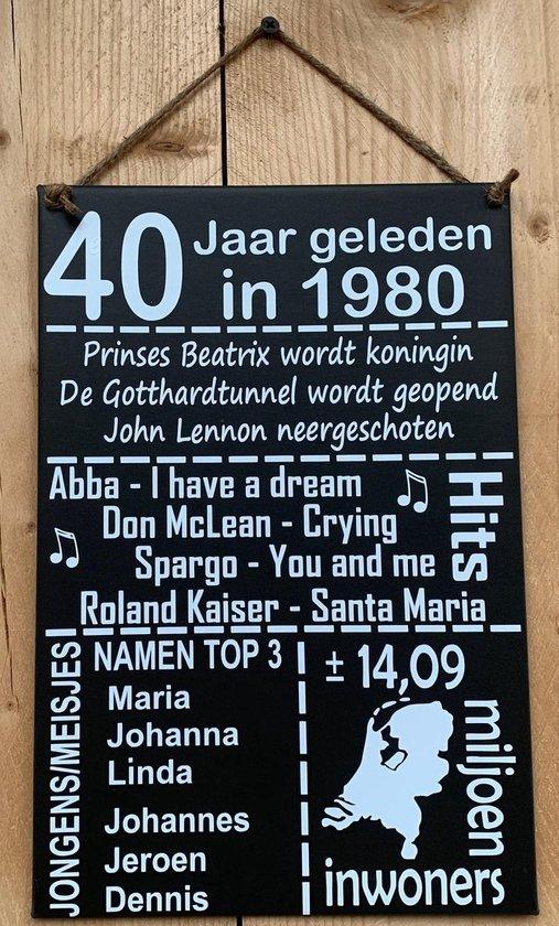 40 Jaar Bord