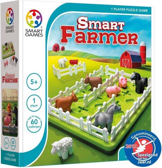 SmartGames - Smart Farmer - denkspel - 60 opdrachten