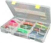 Spro Tackle Box - Tacklebox - 35.5 x 22 x 5.0 cm - Transparant