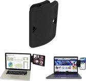 LURK® dual display beeldscherm clip mountie – Universele laptop/notebook multi-monitor setup – Voor tablet en smartphones   Apple iPad & iphone   Samsung Galaxy tab