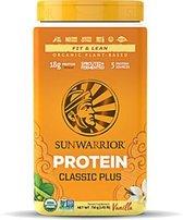 Sunwarrior Proteïne Classic Plus - Vanille - 750 gram