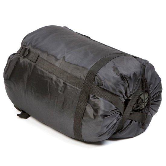 Camp-Gear Slaapzak - Comfort Plus-XXL - 220x90 Cm - Grijs/blauw