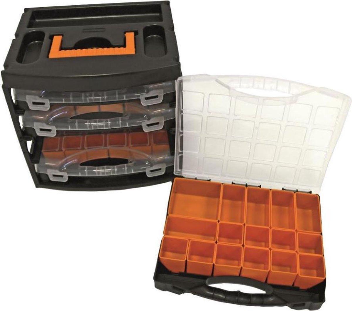 ERRO Handybox - Assortimentsbox met 4 sorteerdozen - Incl. inzetbakjes - ERROPP08