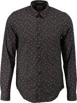 Garcia slim fit overhemd fine cotton valt kleiner - Maat  S