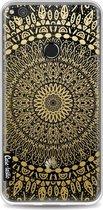 Casetastic Softcover Huawei P8 Lite (2017) - Gold Mandala