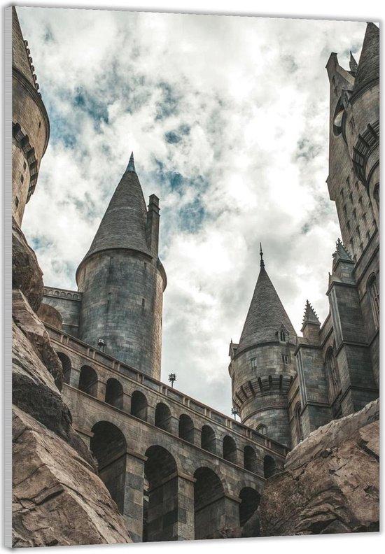 Plexiglas –Harry Potter Kasteel– 60x90cm Foto op (Wanddecoratie op Plexiglas)