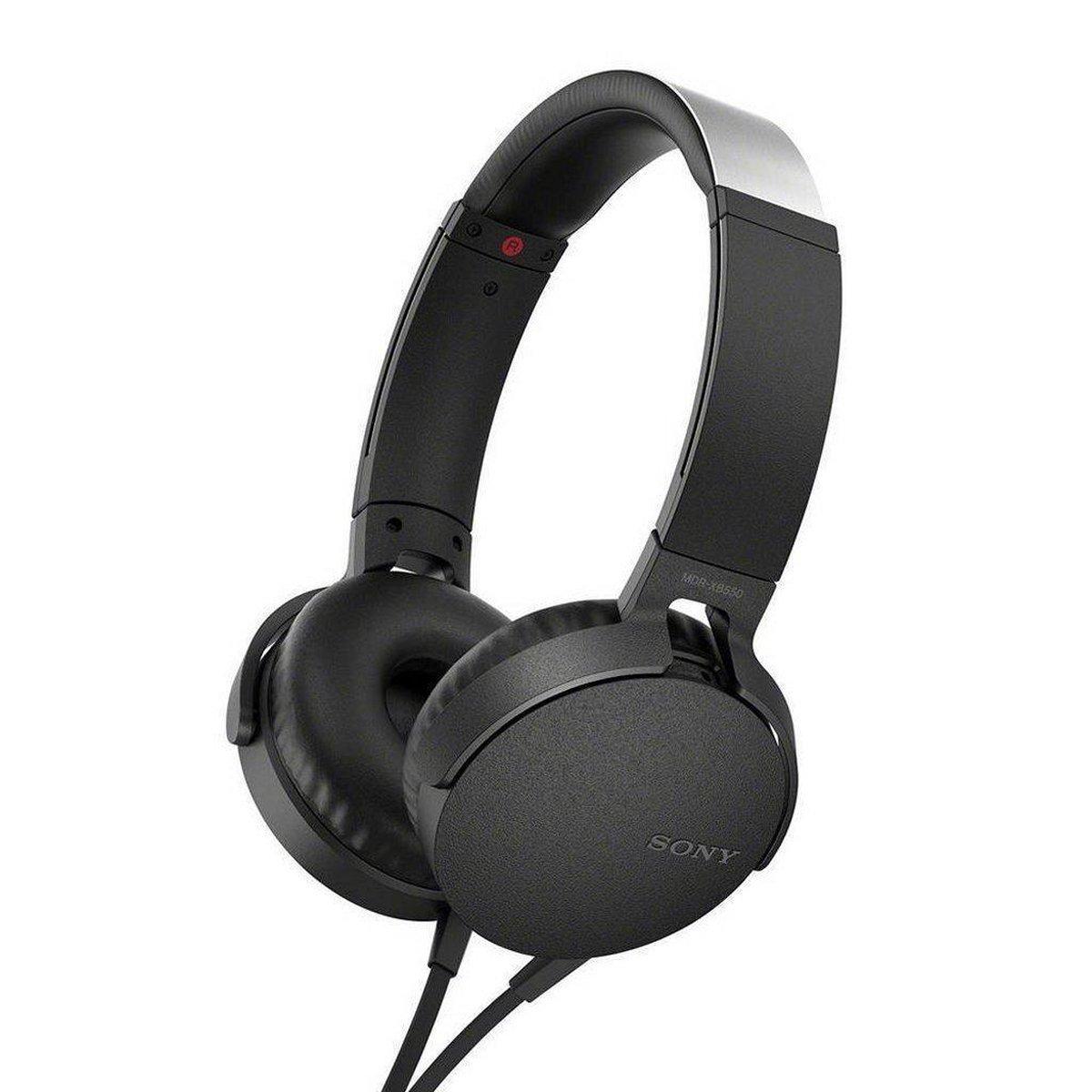 Sony MDR-XB550AP – On-ear koptelefoon – Zwart