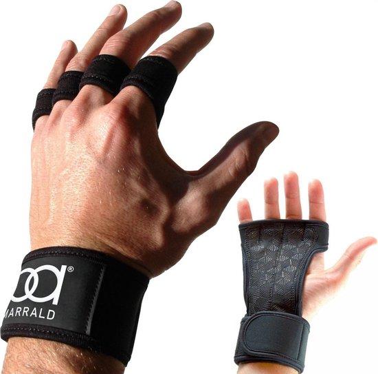 Marrald Sporthandschoenen Grip Gloves M - Dames en Heren - Crossfit Fitness Fitnesshandschoenen Vrouwen Sport Fit Bescherming Pols Handschoenen
