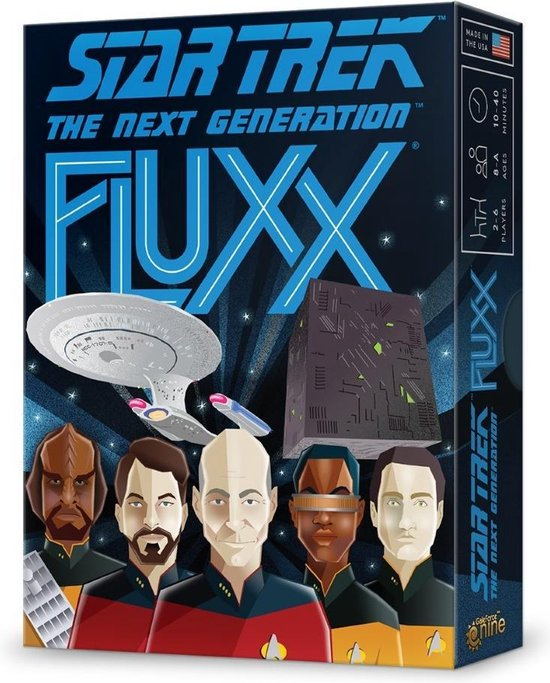 Afbeelding van het spel Star Trek the next generation Fluxx