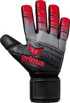 Erima Skinator Hardground NF  Keepershandschoenen - Maat 7  - Unisex - rood/zwart/grijs