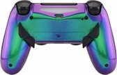 Metallic Chameleon Groen / Paars - Custom PlayStation PS4 PRO eSports Wireless Dualshock 4 V2 Controller / SCUF Remap MOD