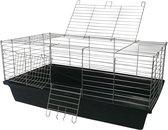 Konijnenkooi / caviakooi Skyline Rabbit 100cm zwart