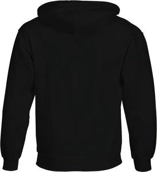 G-town - Fight The Power Hooded Sweater Heren Zwart