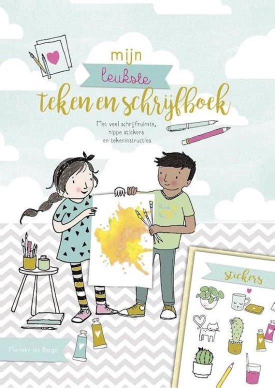 Mijn leukste teken- en schrijfboek - Marieke ten Berge |