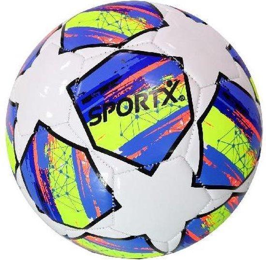Afbeelding van het spel SportX Voetbal Colorfull Star 330-350gr