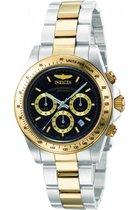 Invicta Speedway 9224 - Horloge - Heren - Zilverkleurig - Quartz - Ø 39,5 mm