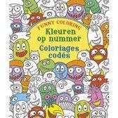 Afbeelding van Kleuren op nummer; Funny coloring; Coloriage codes;