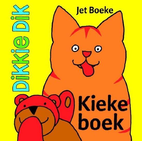Boek cover Dikkie Dik  -   Kiekeboek van Jet Boeke (Hardcover)