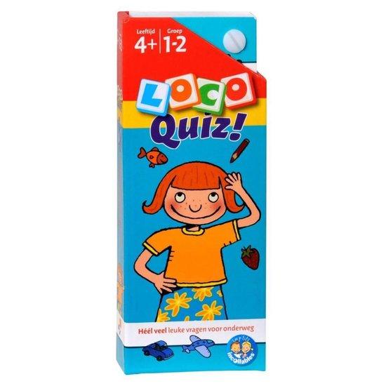 Loco Quiz! Leeftijd 4+ Groep 1-2 - Nvt. |