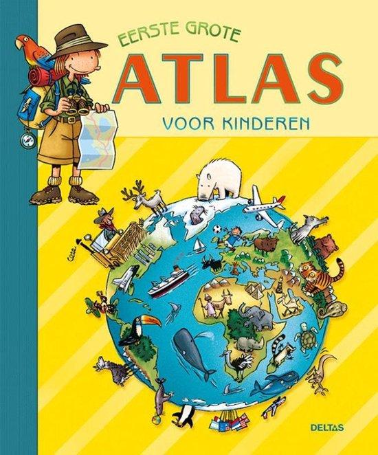 Eerste grote atlas voor kinderen - Onbekend |