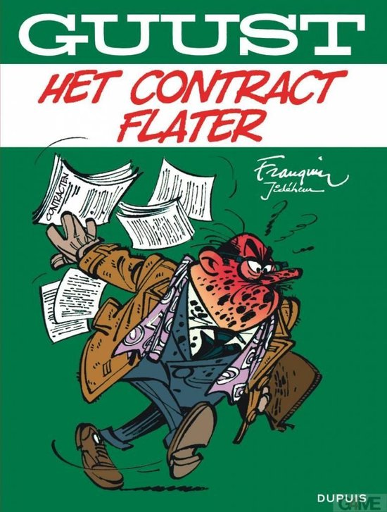 Afbeelding van het spel Stripboeken Guust, het contract fflater