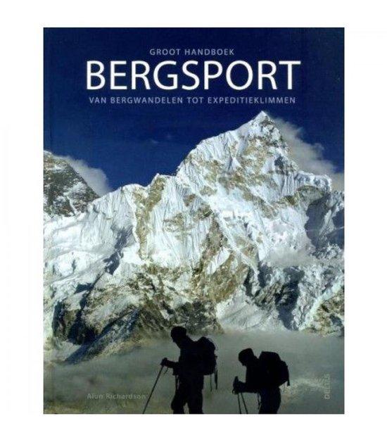 Cover van het boek 'Groot handboek bergsport'