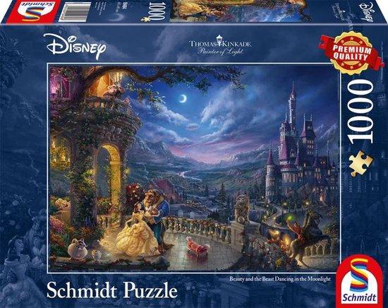 Disney Beauty and the Beast Puzzel - 1000 stukjes - Schmidt