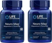 Neuro-Mag Magnesium L-Threonate, 2-pack
