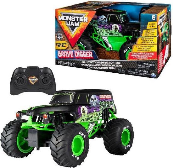 Monster Jam 1:15 Grave Digger RC voertuig