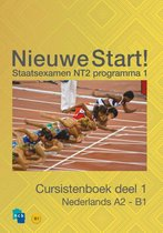 Boek cover Nieuwe Start! Nederlands voor het staatsexamen Deel 1 / A2 - B1 van Ncb