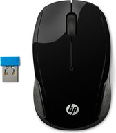 HP draadloze muis 200 - 1000 DPI - zwart