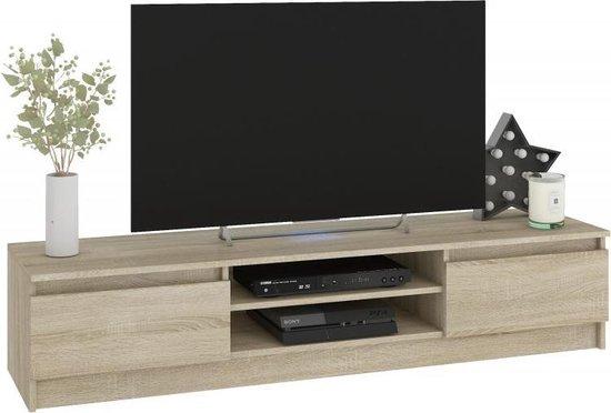 Tv Kast Licht Eiken.Bol Com Az Home Tv Meubel Alice Tv Kast Mediakast Licht