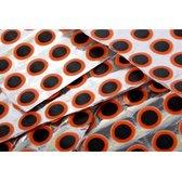WiseGoods - Premium Fietsband Reparatie Patches - Bandenplakker - 48 Patches Ø 25mm Ronde Rubber Patches - Reparatie Plakkers