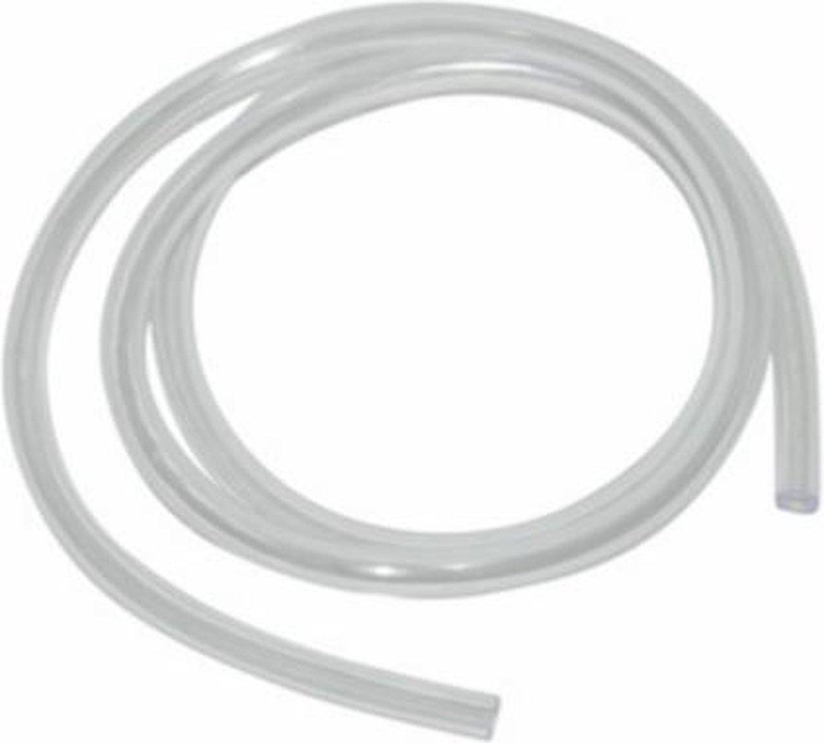 Benzineslang 5x8mm transparant per rol 1m