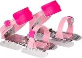 Nijdam Glij-ijzers - Verstelbaar - Unisex - Roze