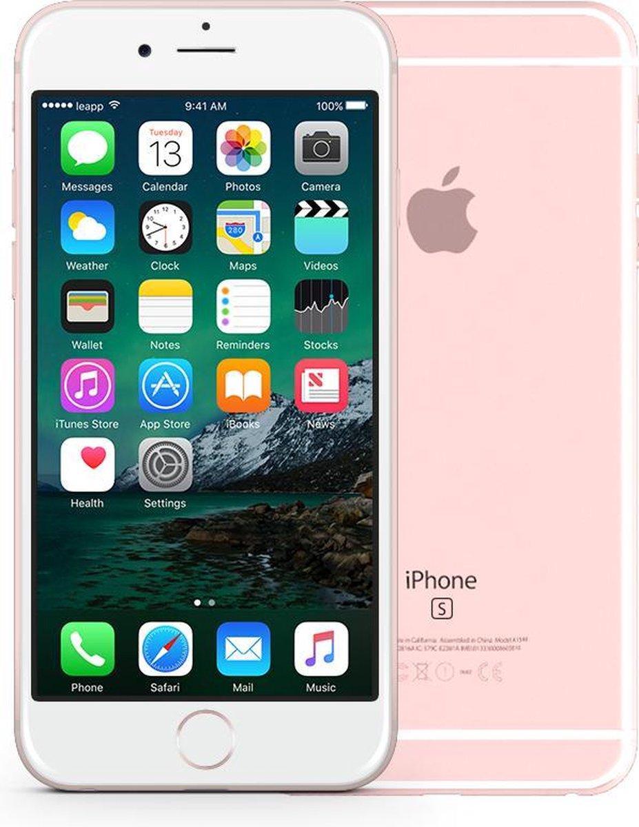 Apple iPhone 6s - Refurbished door leapp - A grade (Zo goed als nieuw) - 64 GB - Rosegoud