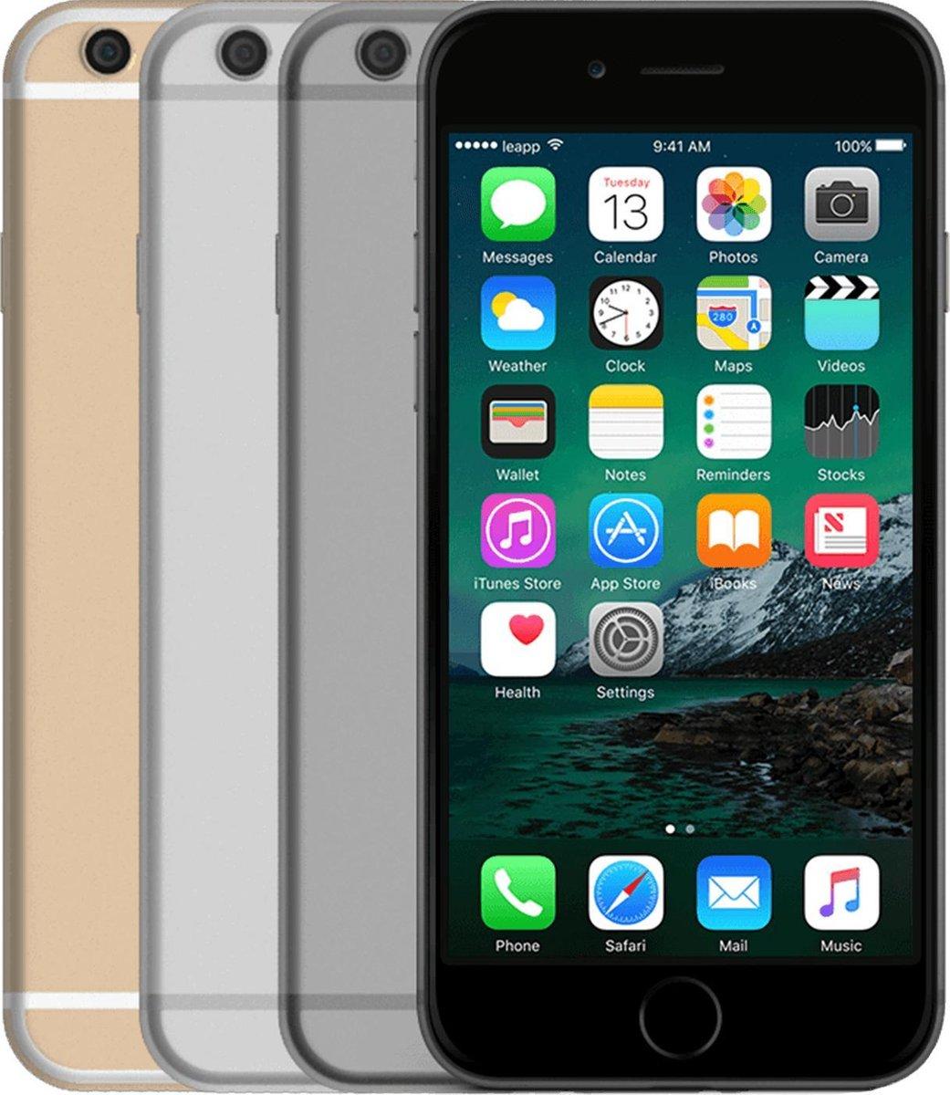 Apple iPhone 6s - Refurbished door Leapp - B grade (Lichte gebruikssporen) - 64GB - Zilver