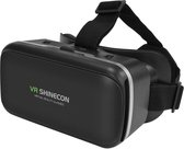 VR SHINECON IMAX Screen Virtual Reality Bril - 4 tot 6 inch smartphones - Black
