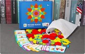 Tangram voor kinderen - Hout - 155 stukjes - Educatief  - 24 puzzelvarianten