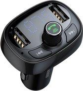BASEUS AUTO MUZIEK TRANSMITER VIA FM / BLUETOOTH / USB