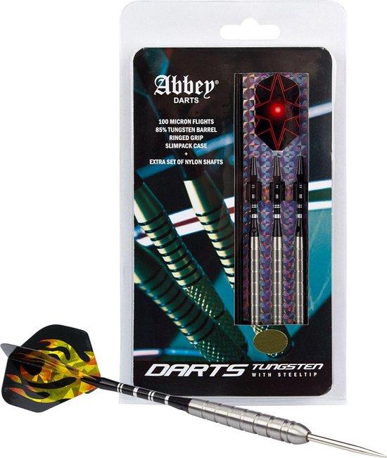 Afbeelding van het spel Abbey Darts Darts - 85% Tungsten - Zilver - 24