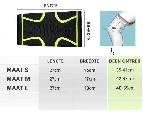 Effectieve Kniebrace Bandage - 2 Stuks - Unisex - Maat M